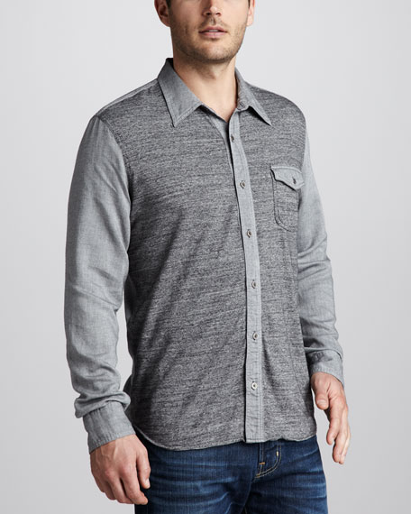 Two-Tone Sport Shirt
