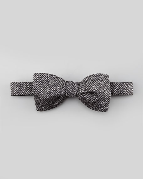 Herringbone Bow Tie