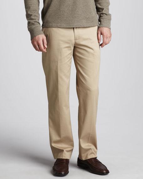 Preson Brushed-Cotton Pants