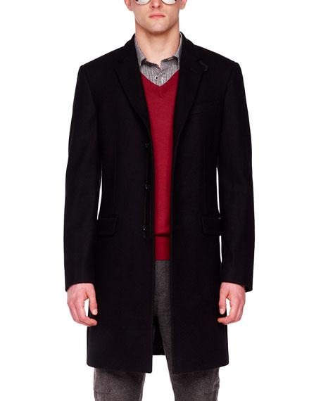 Melton Crombie Coat