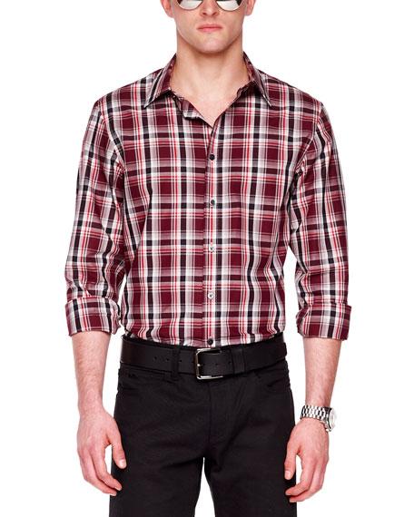 Check Chambray Shirt