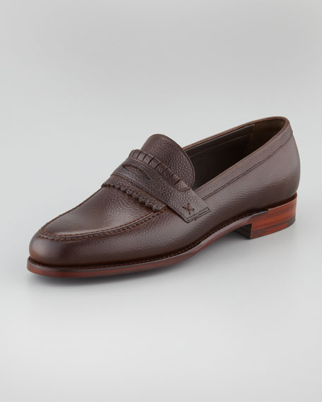 Skirted Loafer, Cordovan