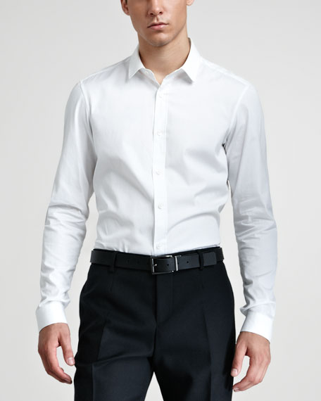 Dress Shirt, Optic White