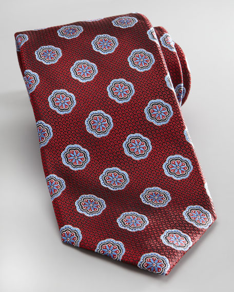 Flower Tie, Red