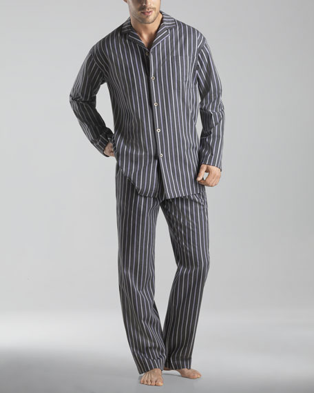 Soho Striped Woven Pajamas