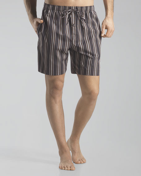 Camden Striped Woven Shorts