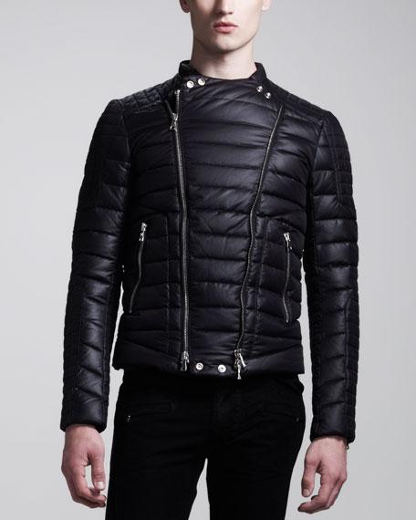 Biker Puffer Jacket