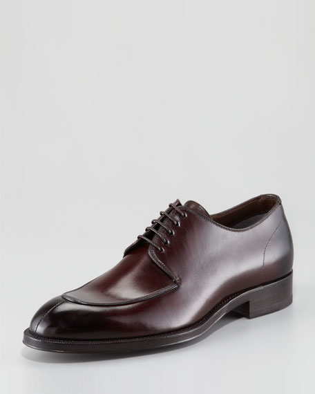 Split-Toe Blucher