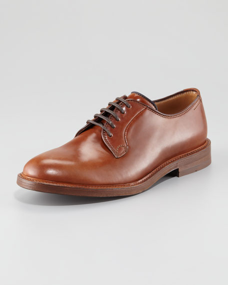 Shell Cordovan Lace-Up Oxford
