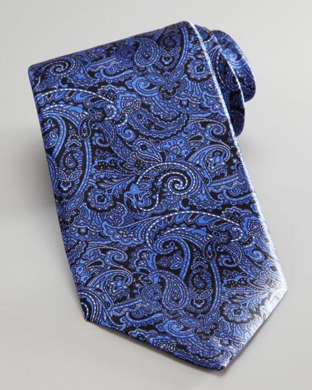 Paisley Tie, Blue