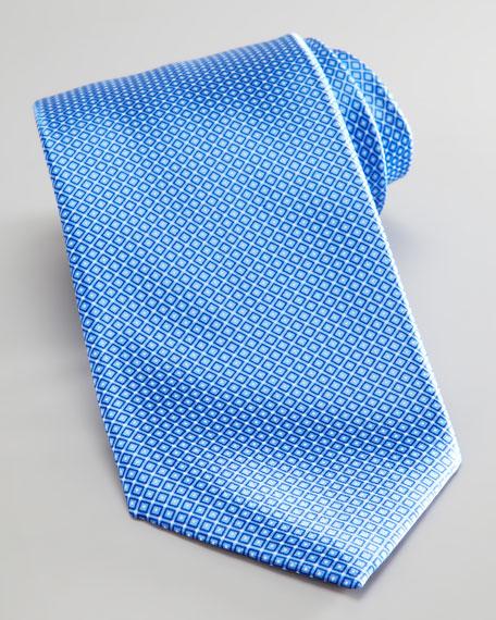 Tonal Grid Tie, Blue