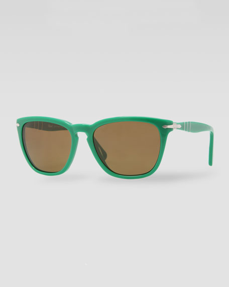 Capri Polarized Sunglasses, Green