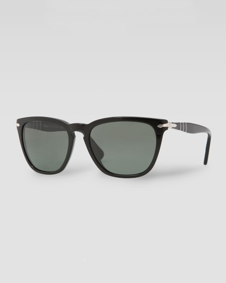 Capri Polarized Sunglasses, Black