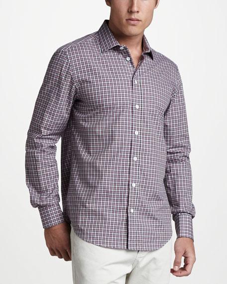 Charles Plaid Sport Shirt