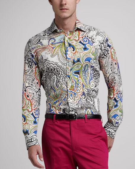 Paisley Sport Shirt