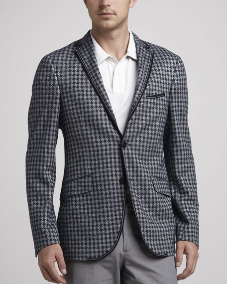 Check Knit Sport Coat