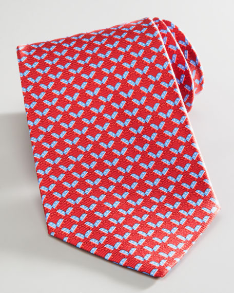 Elephant Election Tie, Red