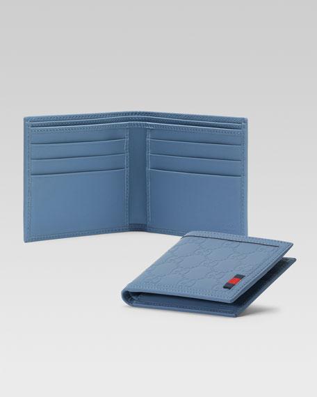 Guccissima Bi-Fold Wallet