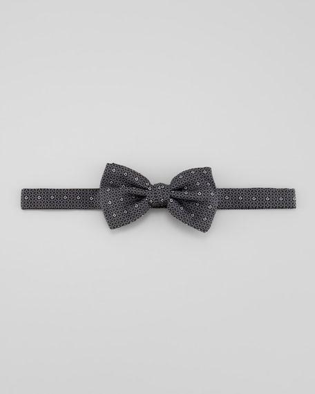 Gancini Print Bow Tie