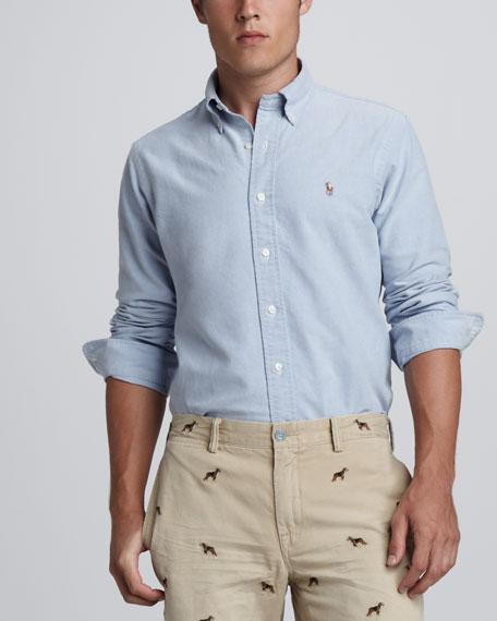 Custom Fit Button-Down Shirt