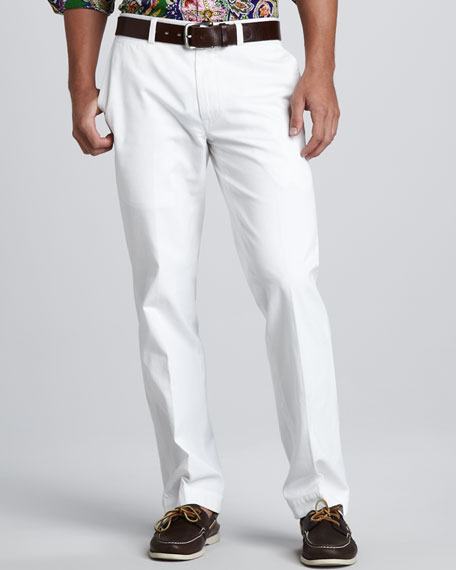 Suffield Twill Pants, White