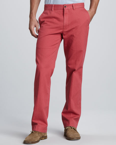 Suffield Twill Pants, Brick Red