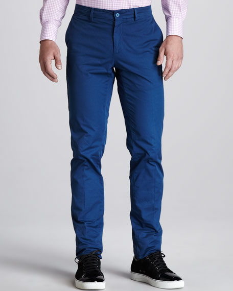 Overdyed Slim Pants