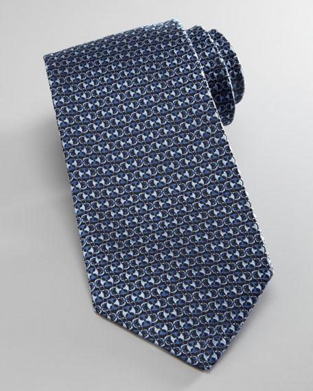 Horsebit-Print Tie