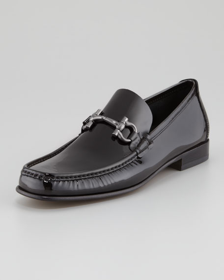 Giordano Patent Bit Loafer, Black