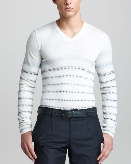 Digital-Print Sweater