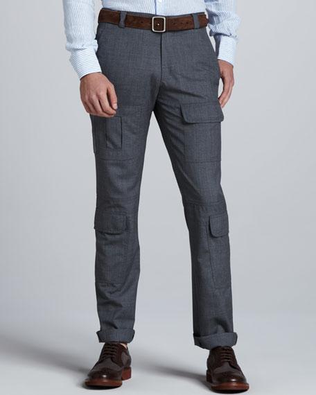 Wool Military Pants