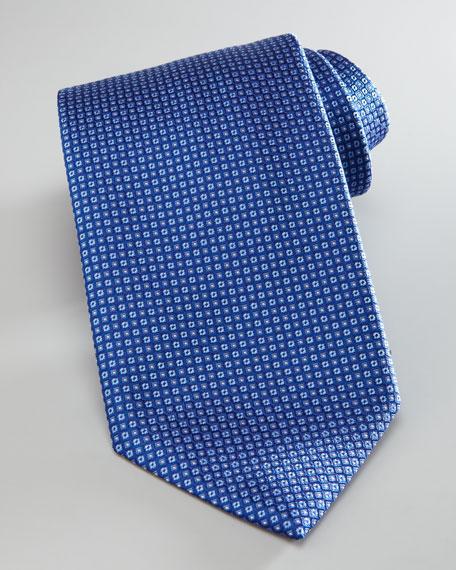 Tonal-Squares Silk Tie