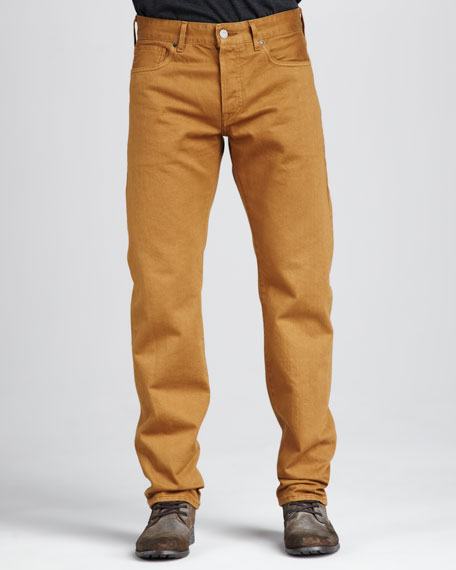 Ruler Golden Brown Jeans