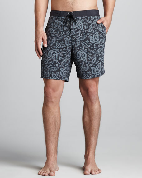 Paisley Swim Trunks