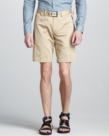 Croxton Belted Shorts