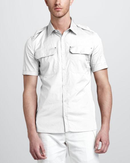Darton Short-Sleeve Military Shirt