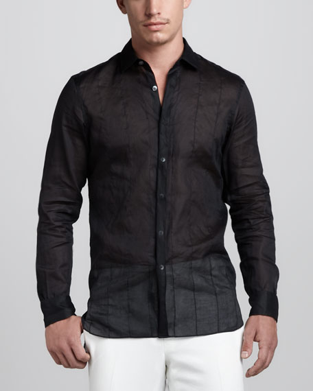 Sheer Stitched Shirt