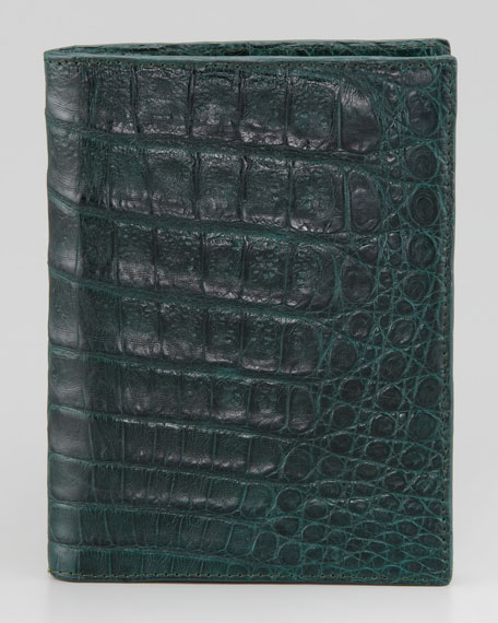 Crocodile Passport Cover