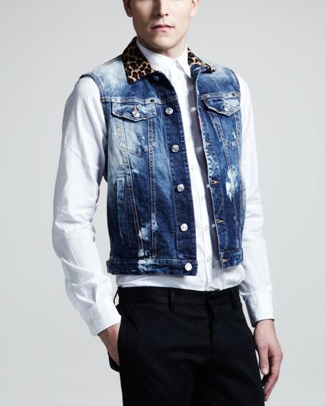 Clubbing Jean Vest
