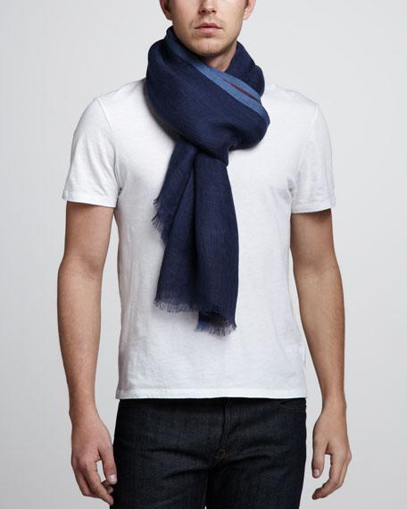 West End Linen-Cotton Scarf