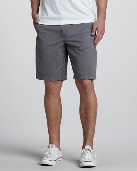 Classic Bermuda Shorts, Smoke Gray