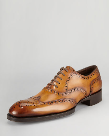 Edward Brogue Wing-Tip