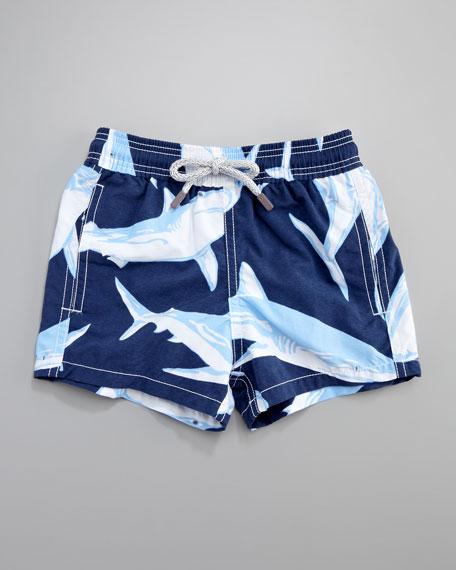 Sharks Jim Swim Trunks, Sizes 2-6