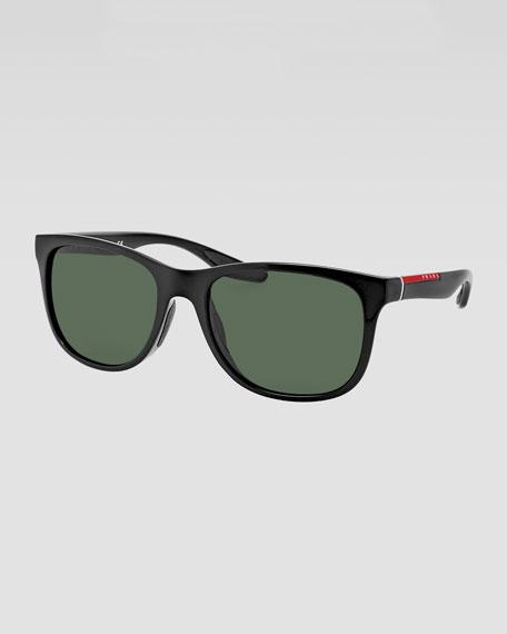 Squared Plastic Sunglasses