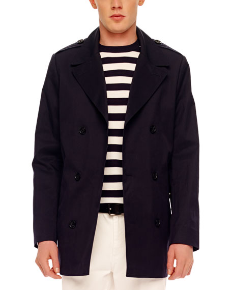 Relaxed Twill Coat
