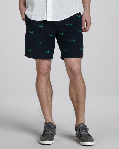 Whales Chino Shorts
