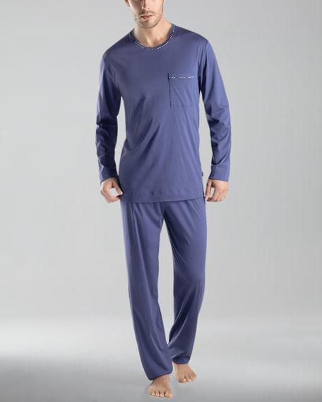 Clifford Knit Long-Sleeve Pajamas