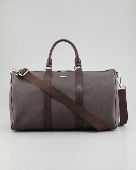 New Form Men's Duffel Bag, Brown