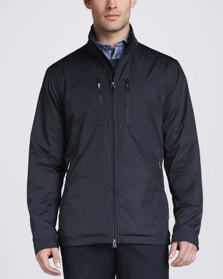 Tech Field Jacket, Navy