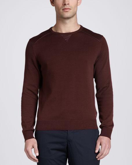 Crewneck Sweatshirt, Red